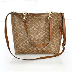 Karl Lagerfeld Monogram Tote Shoulder Bag